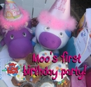 Moo's First Birthday Party