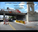 1st Street Viaduct and Street Widening