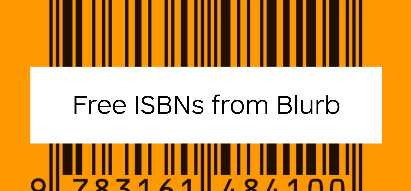 free isbns from blurb