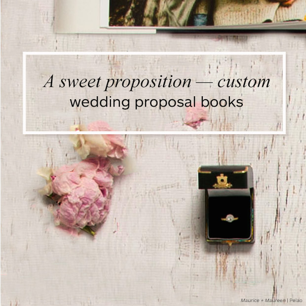 A Sweet Proposition Custom Wedding Proposal Books