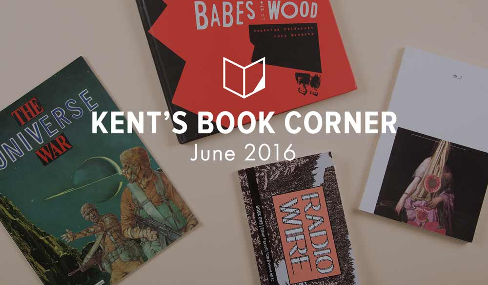 Kent's Corner: Collage Books and Graphic Novels