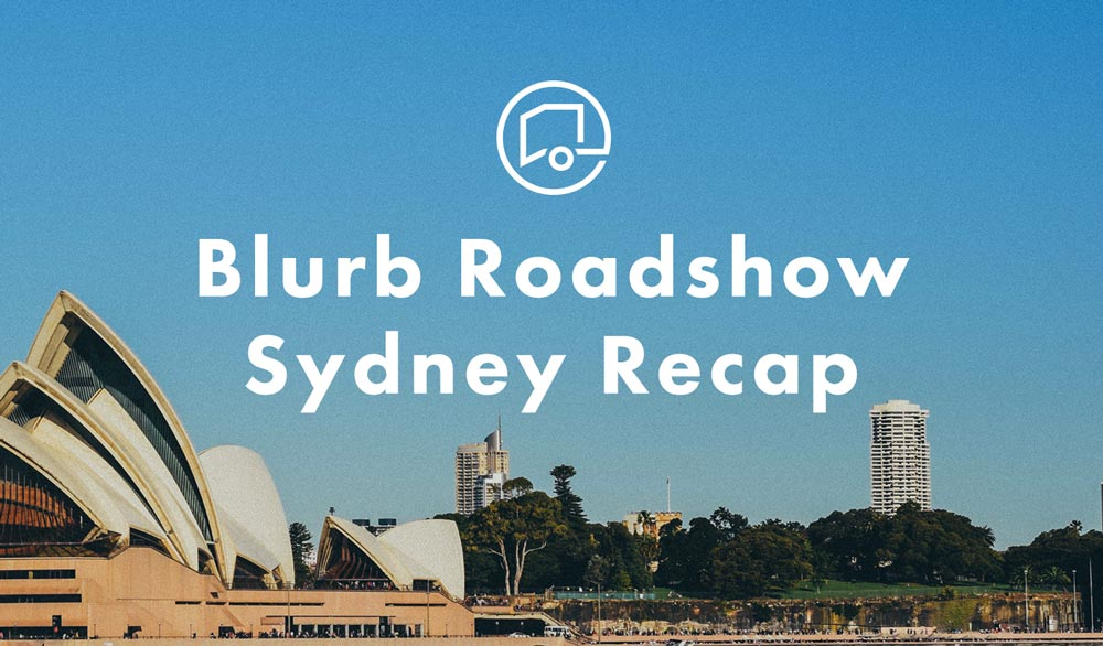 Blurb Roadshow goes Australian