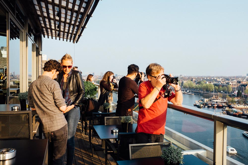 amsterdam sky lounge photo