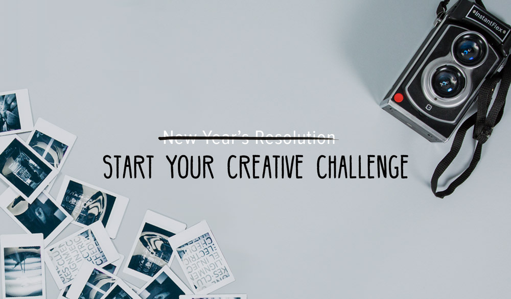 New Year's Resolution: Start Your Creative Challenge