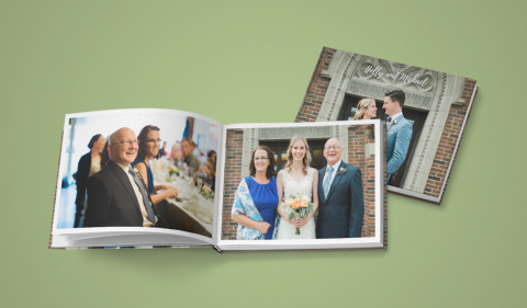1 Wedding, 100s of Guests: Gift Albums from The Big Day