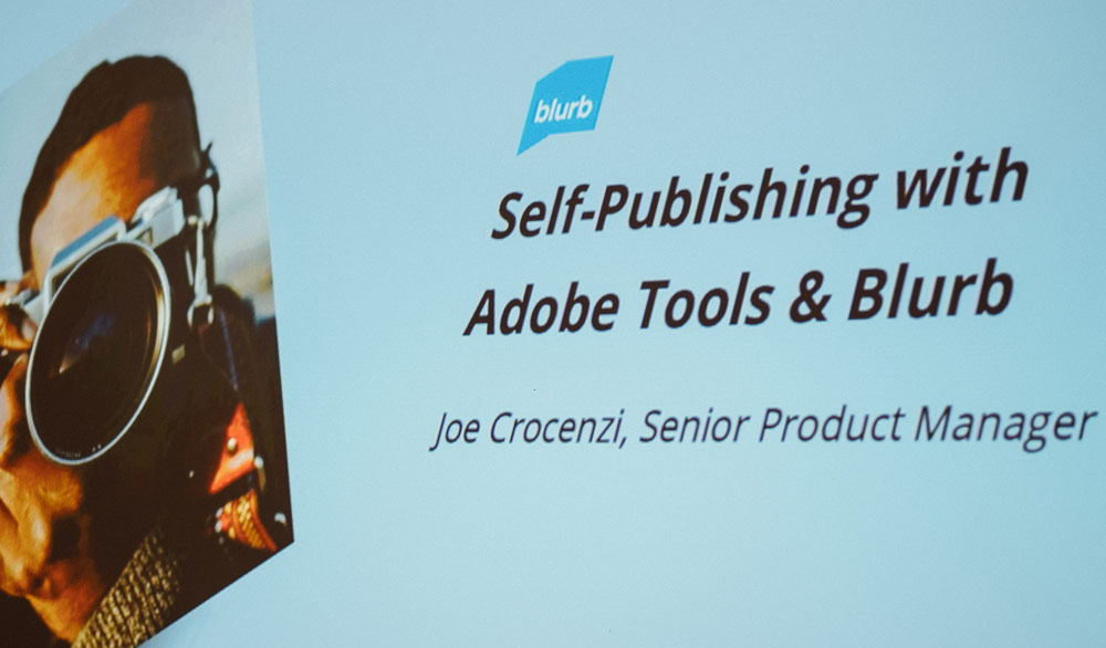 Blurb at Creative Pro Week