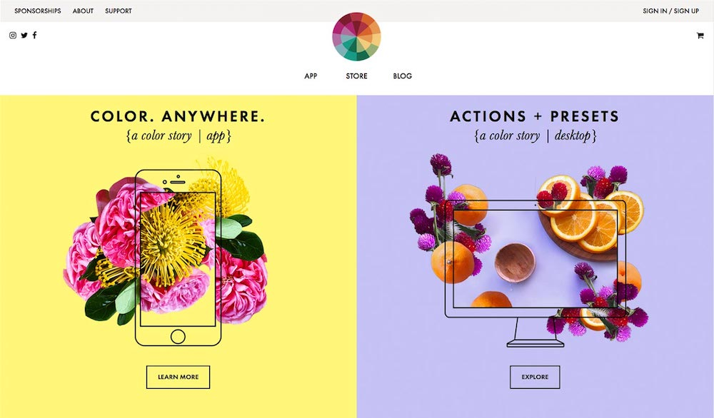 free design resources, A Color Story