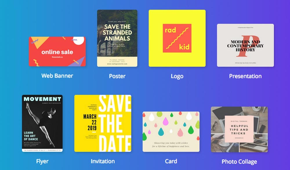 free design resources, Canva