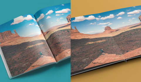 Reordering an Existing Photo Book with Layflat Paper