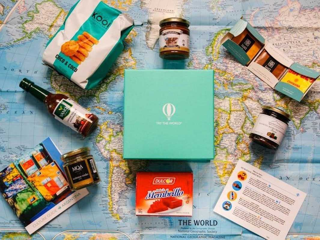 Flavors From Around the World Gift Box