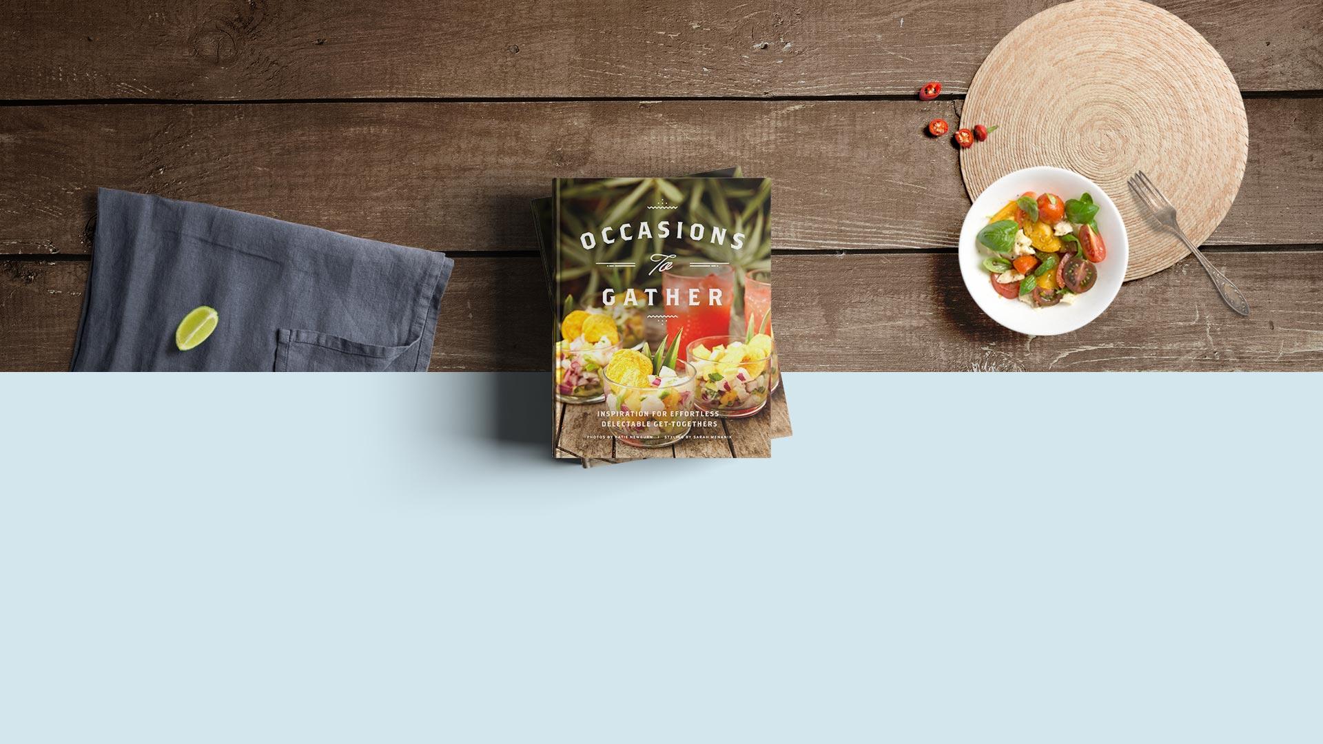 Custom cookbook sample by ldecs   blurb books.