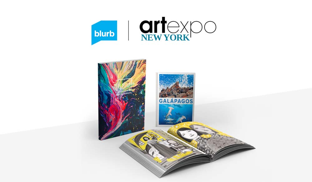 Blurb at Artexpo 2018