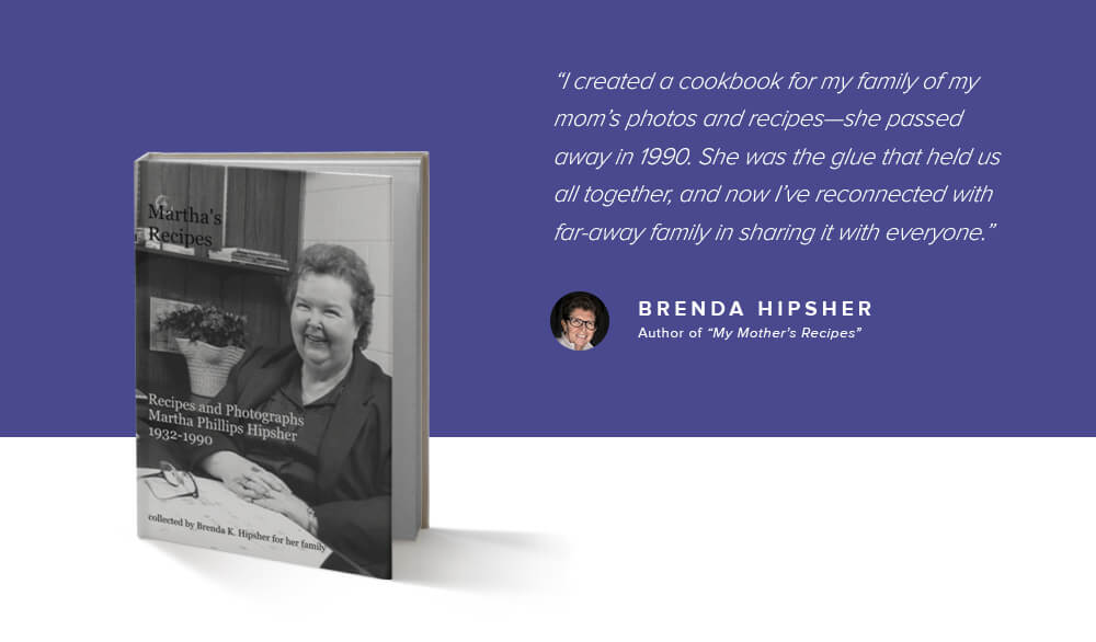 Brenda Hipsher, My Mother's Recipes