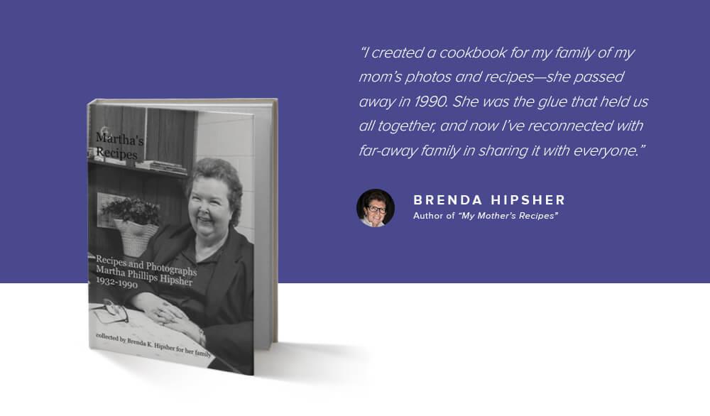 Brenda Hipsher, My Mother's Recipes