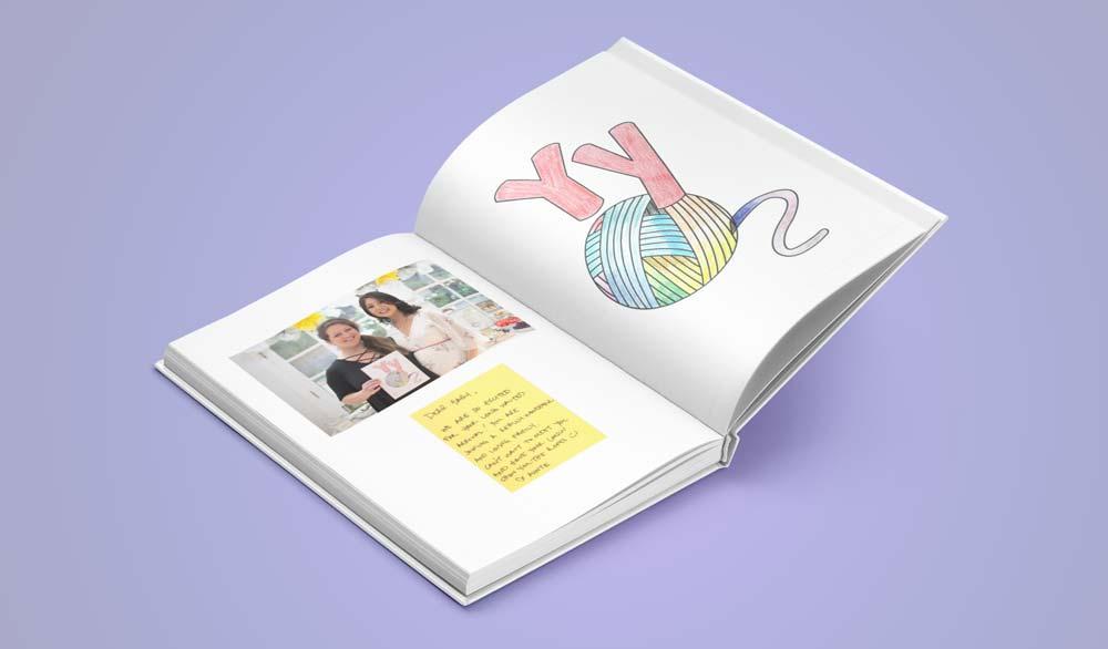 An A-Z book for children