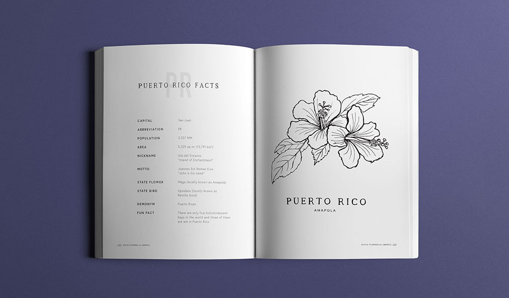 State Flowers of America, Puerto Rico