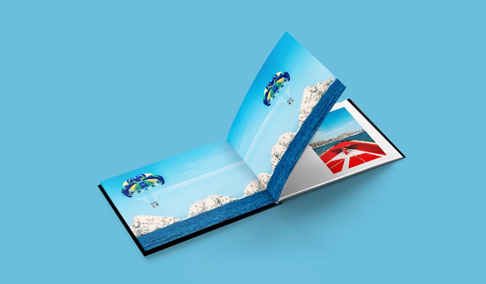 Layflat Travel Book