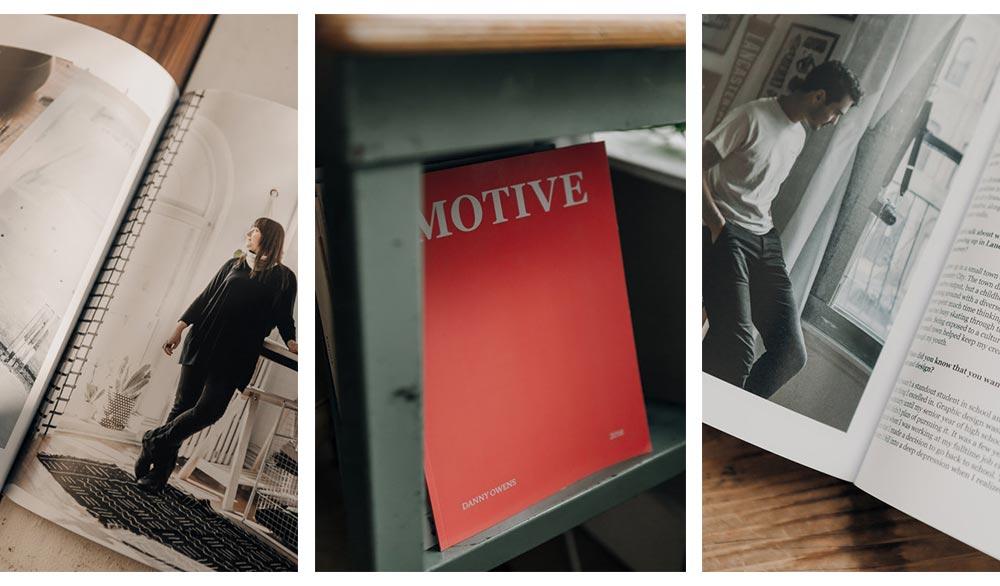 Motive Magazine by Danny Owens