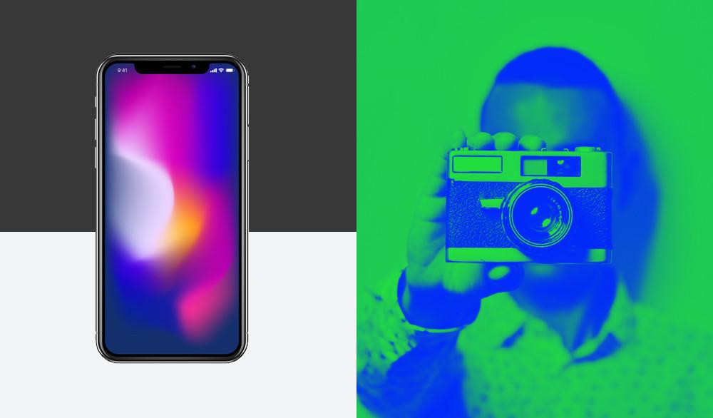 2019 Design Trend: Translucent Gradients & Duotone