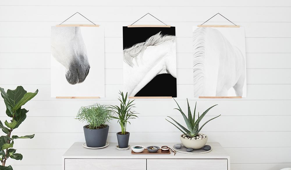 Bedroom Wall Décor Idea: Black & White Photography