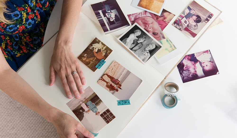 Collect and sort your family photos
