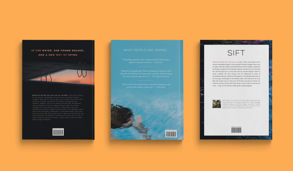 Examples book back cover designs