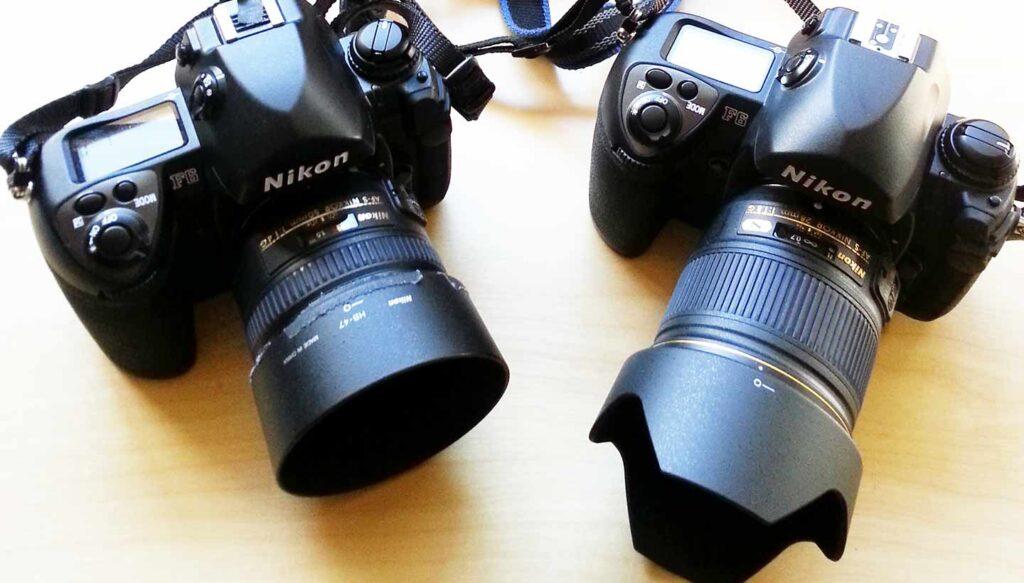 Mirrorless vs. DSLR Cameras