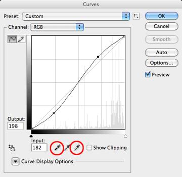 Figure 3. Augmentation de contraste