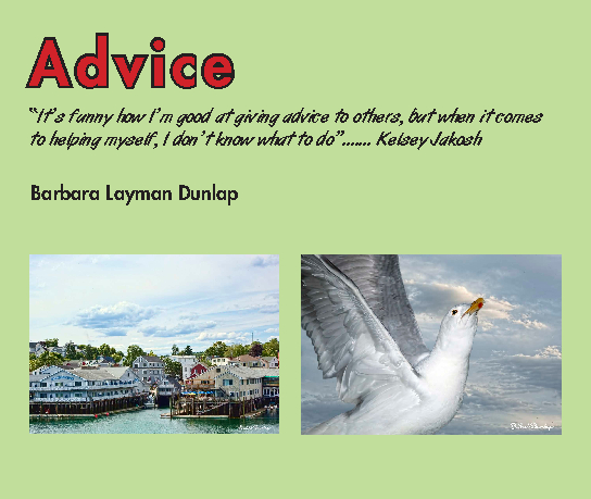 Click to preview Advice photo book