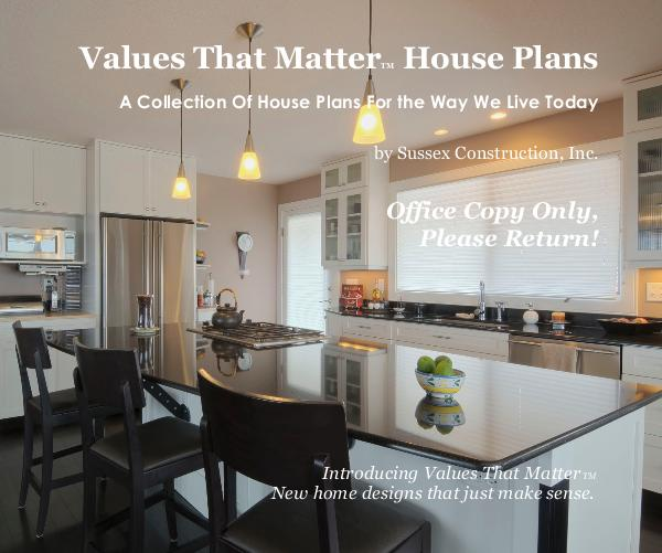 Click to preview Values That MatterTM House Plans photo book