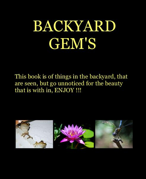 View BACKYARD GEM'S by chuckpee54