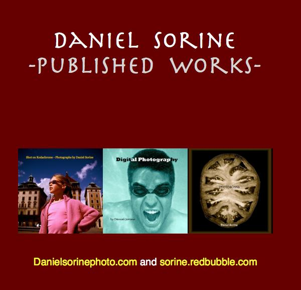 Click to preview Daniel Sorine -Published Works- photo book
