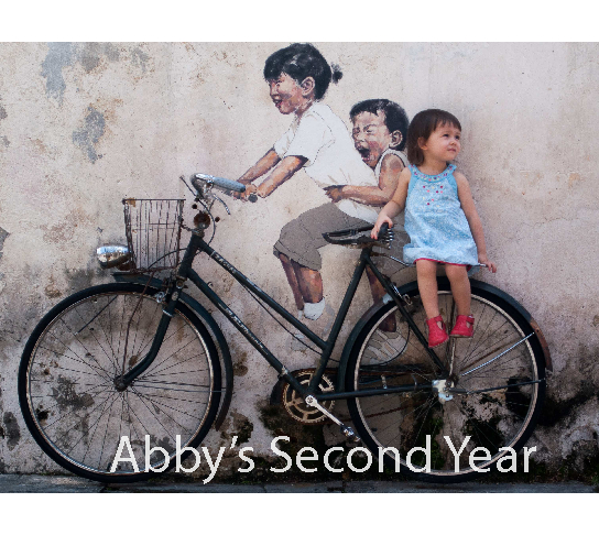 Click to preview Abby's Second Year photo book
