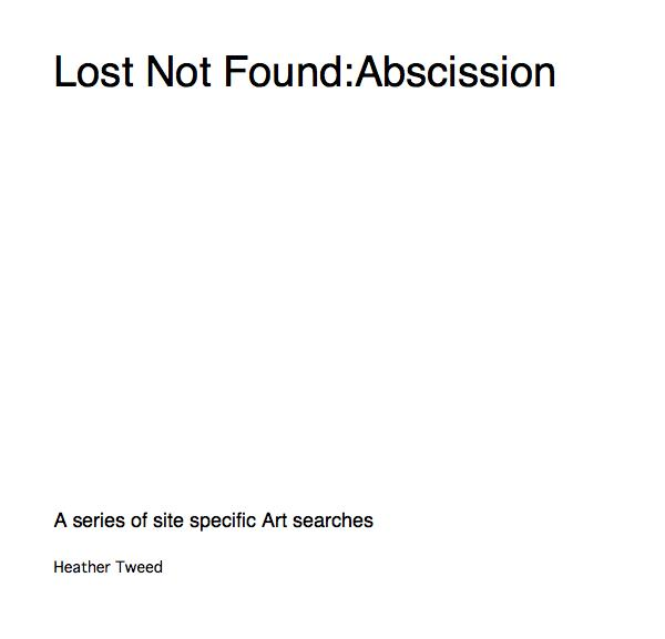 Lost Not Found:Abscission
