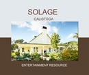 SOLAGE CALISTOGA, as listed under Wedding