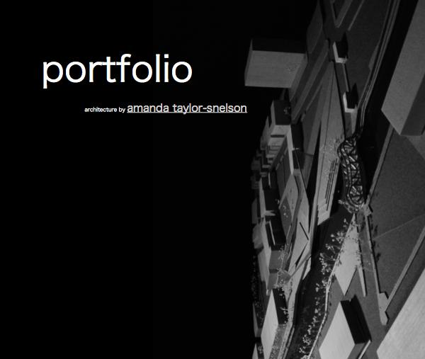 Portfolio By Architecture By Amanda Taylor Snelson Blurb Books