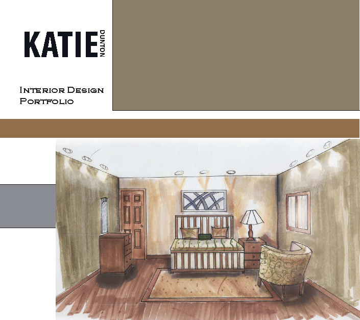 Interior design portfolio by katie dunton architecture Fit interior design portfolio