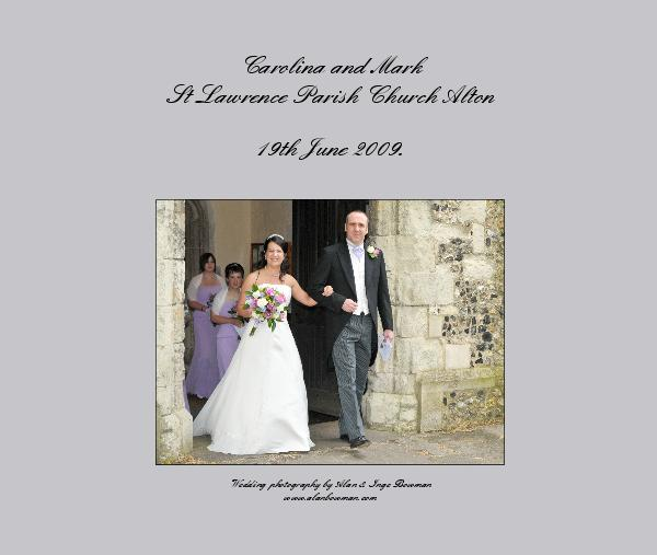carolina and mark st lawrence parish church alton by