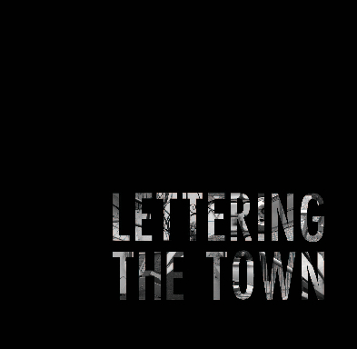 Click to preview Lettering the Town photo book