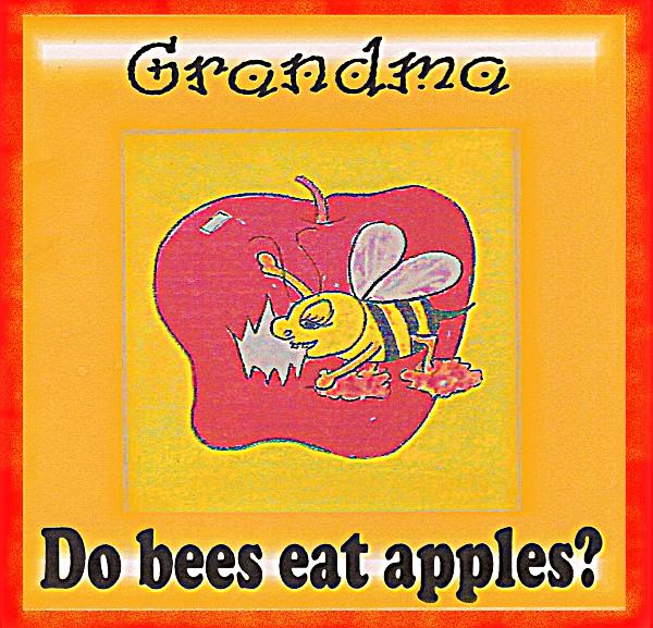 Click to preview Grandma do bees eat apples? photo book