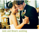 Jade and Brian's wedding - photo book