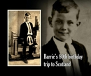 Barrie's 80th birthday trip to Scotland - Travel photo book