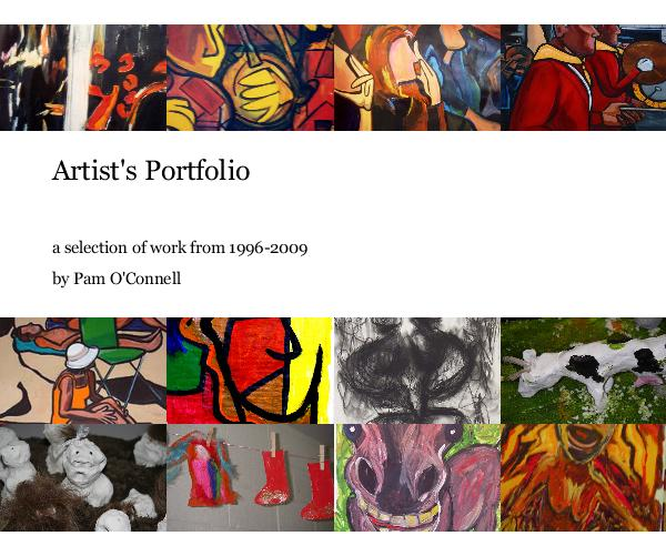 how to build a artist portfolio