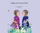 Audrey and Lily are Three - Children photo book