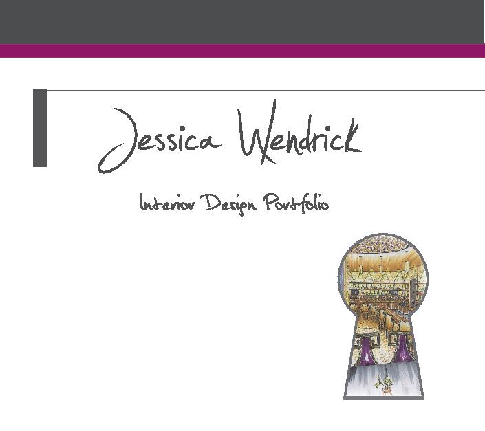 Interior Design Portfolio By Jessica Wendrick Architecture Blurb Books