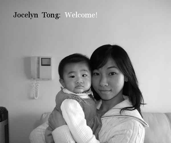 View Jocelyn Tong: Welcome! by henrylam29