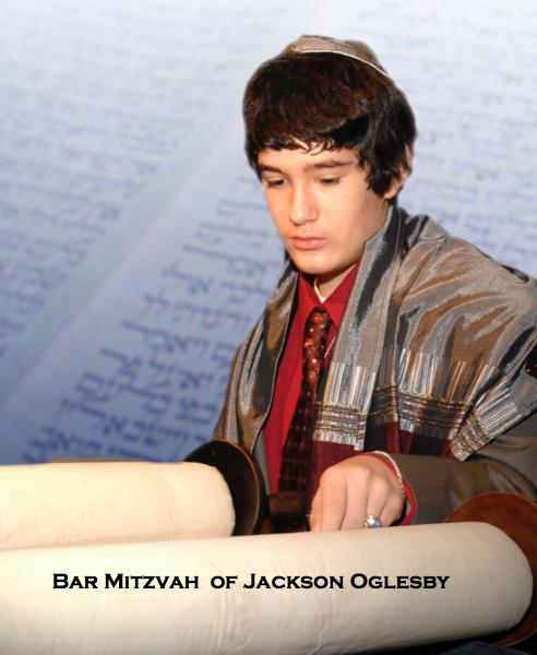 View Bar Mitzvah of Jackson Oglesby by Elizabeth Marlowe