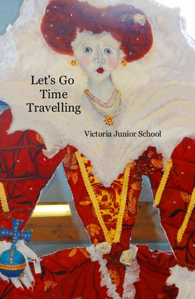 Click to preview Let's Go Time Travelling pocket and trade book
