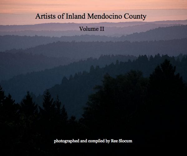 Click to preview Artists of Inland Mendocino County photo book