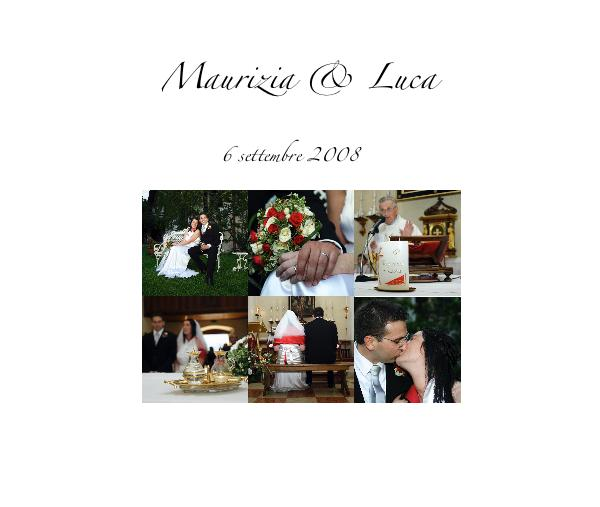 Click to preview Maurizia & Luca photo book